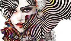 An artist and designer based in Copenhagen, Denmark, Naja Conrad-Hansen creates unbelievably gorgeous fashion illustrations out of watercolor and ink. Fashion Art Illustration, Op Art, Art Gallery, Illustrators, Gallery Artwork, Illustration, Giclee Art Print, Art, Beautiful Art
