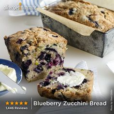 """""""Wow, what a treat! It was absolutely delicious—a perfect summer loaf. The kids ate it all up and didn't even know it had 2 cups of zucchini in it. Can't wait to make it again, and I can't wait to pass on this wonderful recipe."""" —ALL42HUTTONBOYS"""