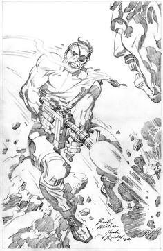 Nick Fury by Jack Kirby