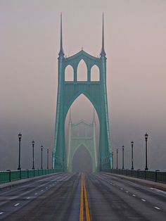 St. John's Bridge - Near Portland, Oregon