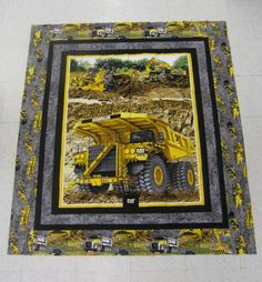 Caterpillar Panel  Quilt version 2