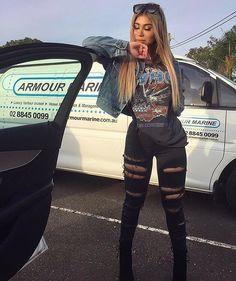 "24.4k Likes, 45 Comments - FashionNova.com (@fashionnova) on Instagram: ""❤️MUST HAVES❤️⠀⠀ Search: ""Slash And Burn Jeans""⠀ ✨www.FashionNova.com✨"""