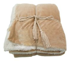 Simplicity Super Soft Faux Fur Luxurious Lambswool Throw Blanket Camel -- Visit the affiliate link Amazon.com on image for more details.