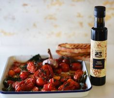 Maggie Beer's Roasted Tomatoes with Vino Cotto and Herbs
