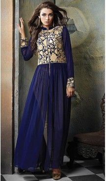 #Blue Color #Georgette Anarkali Churidar Suit with Dupatta | FH459871820 #anarkali , #salwar , #kameez , #dresses , #suits , #designer , #colors , #pinterest , #Shopping , #fashion , #boutique , #online , #heenastyle , #indian , #style , @heenastyle , #churidar , #likes , #abaya , #pakistani, #clothing , #womens , #mens , #kids , #boys , #girls