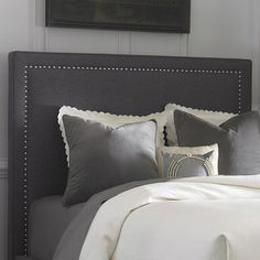 Found it at AllModern - Upholstered Headboard