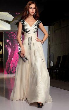 YZ 2013 Sexy V Neck Chiffon Pearl Pink Evening Dresses Rhinestone Crsytals  Prom Dresses Party Dresses 45bb51dcb