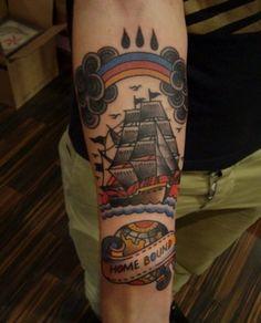 ship tattoo-minus the rainbow
