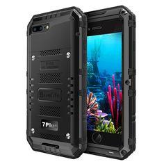 iPhone 7 plus Case,[Waterproof] Premium Protective Metal Extreme Water Resistant #Buvelife