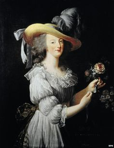 It was this portrait that shocked a nation. Marie Antoinette, the queen of France in 1783, had already outraged the French with her opulence; now she managed to scandalise the nation by ditching the glitz and taking a more simple approach to her outfits.    So simple, in fact, that the nation thought she had posed for the portrait in her underwear.