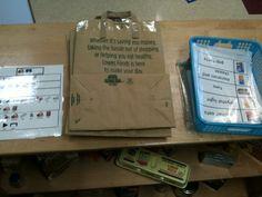 An Adapted Curriculum Classroom: Vocational Centers