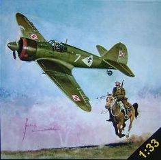 The PZL.50 Jastrząb (Hawk) was a Polish pre-war fighter aircraft design by Wsiewołod Jakimiuk of the PZL works. The single-seat low-wing monoplane was to serve as a multi-purpose fighter and escort to replace all other fighters in the Polish Air Force. Designed after 1936, its prototype first flew in February 1939. A further two prototypes were under construction by the time of the Invasion of Poland, but the fighter never entered mass production.