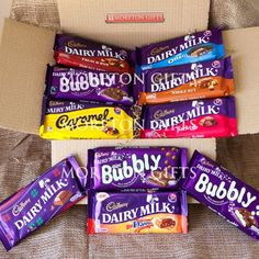 Buy Cadbury 10 Chocolate Bar Extravaganza Treat Box - Perfect Mother's Or Father's Day Gift - Dairy Milk, Fruit &. Cadbury Chocolate Bars, Dairy Milk Chocolate, Cadbury Dairy Milk, Chocolate Sweets, I Love Chocolate, Chocolate Heaven, Chocolate Gifts, Chocolate Lovers, White Chocolate