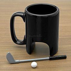 Koffie- en golfpauze