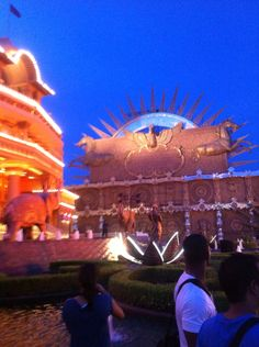 Kingdom of dreams, Gurgaon, India.