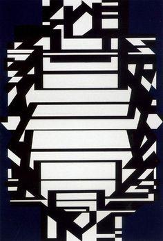 Victor Vasarely * Mindoro (1954)  Art Experience NYC  www.artexperiencenyc.com