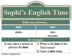 Dica do Dia: Data vs Date