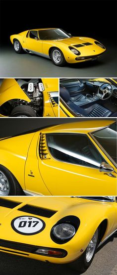1972 #Lamborghini Miura SV Coupé