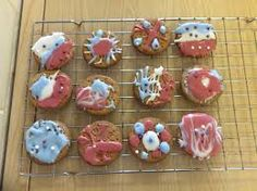 Image result for biscuit bunting Bunting, Biscuits, Cookies, Desserts, Image, Food, Crack Crackers, Crack Crackers, Tailgate Desserts