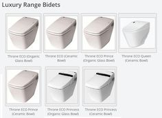 "Bidet Seats commonly known as a ""japanese toilet"" or a ""washlet"" electronic bidet Steam Showers Bathroom, Bathroom Toilets, Steam Spa, Infrared Sauna, Jet, Modern Design, Japanese, Culture, Queen"