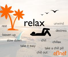 Words for Relax | EFLnet