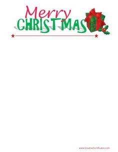 Free Christmas borders. Instant download. Many designs available. Christmas Clipart, Merry Christmas, Xmas, Free Christmas Printables, Free Printables, Free Christmas Borders, Border Templates, Page Borders, Crafts For Kids