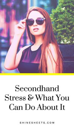 Here's What You Can Do About It Secondhand stress is so sneaky that sometimes you don't even notice it. Yet it can affect you and your love ones on a daily basis. Learn to spot secondhand stress and deal with it in a positive way! Coping With Stress, Dealing With Stress, Stress And Anxiety, How To Relieve Stress, Anxiety Relief, Oral Health, Health And Wellness, Health Tips, Health Care