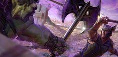 Thor: Ragnarok concept art shows Hela & Gladiator Hulk, plus see Avengers Tower in Marvel's Netflix shows | Live for Films