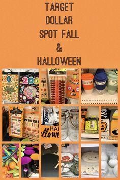 Target Dollar Spot Finds For Fall & Halloween 2017