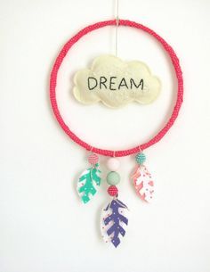 Dream Catcher! Hang near bed to catch those bad dreams!