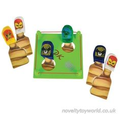We declare a thumb war! A fun novelty toy for children who have a score to settle. Set includes thumb wrestling characters and a ring to thumb war in. Wholesale bulk buy from 48 units. Thumb Wars, Beach Games, Garden Games, Novelty Toys, Indoor Games, Sports Games, Games For Kids, Kids Toys, Wrestling