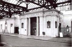 South Western House, Canute Road, Main Entrance from Terminus Railway Station