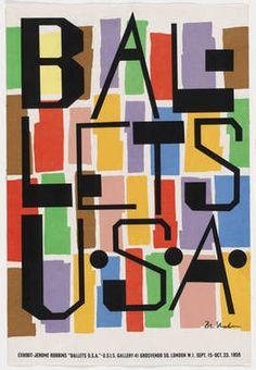 Ballets USA poster