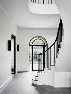 Modern design by robson rak 2 handrail & stairs дизайн дома, Interior Design Awards, Home Interior Design, Interior Architecture, Interior Decorating, Decorating Ideas, Stairs Architecture, Home Luxury, Luxury Homes, Melbourne House