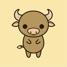 Cute Bull - Holly