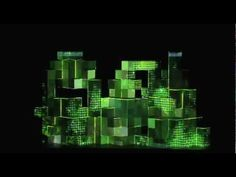 Amon Tobin and ISAM ~ Stunning live visuals set & electronic music.
