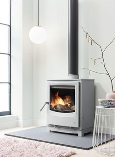Create a contemporary look in your home with our wood burning, multi fuel stoves… – Freestanding fireplace wood burning Log Burning Stoves, Wood Burning Fires, Inset Stoves, Wood Stoves, Multi Fuel Stove, Freestanding Fireplace, Stove Fireplace, Fireplace Ideas, Fireplace Design