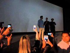 Henry Cavill e Armie Hammer na Premiere no Brasil no Cine Roxy Rio De Janeiro 25/08/15 - YouTube