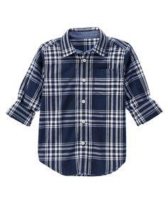 Plaid Shirt at Gymboree (Gymboree 4-10)