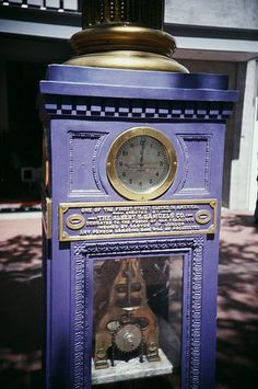 ...one of the finest street clocks in America
