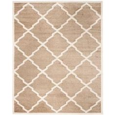 Safavieh Amherst Wheat/Beige 2 ft. 6 in. x 4 ft. Indoor/Outdoor Area Rug - AMT421S-24 - The Home Depot