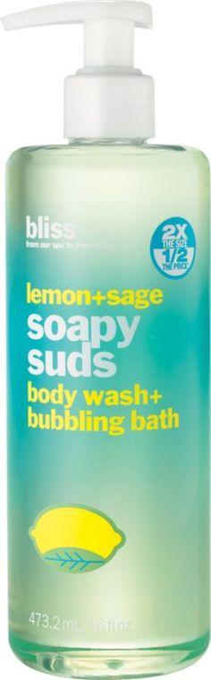 Bliss Lemon + Sage Soapy Suds Ulta.com - Cosmetics, Fragrance, Salon and Beauty Gifts