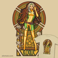 Rogue Nouveau.  She was always my favorite female Xmen character.