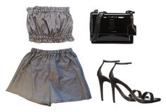 """""""Untitled #133"""" by katerinavra on Polyvore featuring Steve Madden and Yves Saint Laurent"""