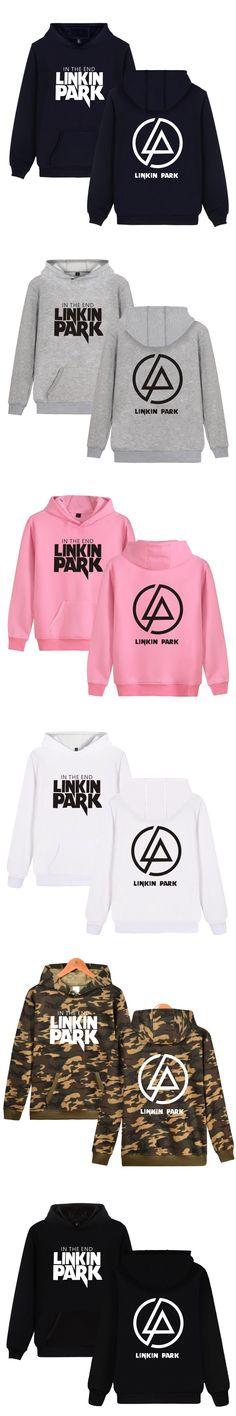 Brand Hoodies Men's Casual Sweatshirt Male Linkin Park Hoodies Warm Cotton Blend Hoody
