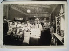 Store Interior Old Early 1900s Photo; Lester Barnum; Pillsbury Flour Sack; Signs in Collectibles, Photographic Images, Vintage & Antique (Pre-1940), Other Antique Photographs | eBay