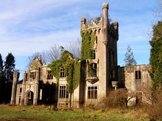 Lough Eske Castle Ruins, Donegal, Ireland