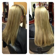 Before/After styled straight #hotheads #hairextensions #extensions #longhair