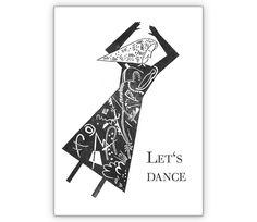 Einladungskarte mit Tanzender: Let's dance - http://www.1agrusskarten.de/shop/einladungskarte-mit-tanzender-lets-dance-2/    00017_0_1095, einladen, Einladung, Einladungskarte, Grußkarte, Klappkarte, Party Einladungen, Tanzen, Tänzerin00017_0_1095, einladen, Einladung, Einladungskarte, Grußkarte, Klappkarte, Party Einladungen, Tanzen, Tänzerin