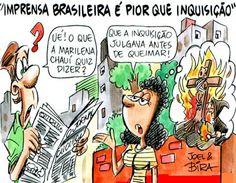 TUDO EM CIMA: Jornalismo: O mito da imparcialidade de imprensa